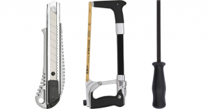 Knivar, sågar och filar