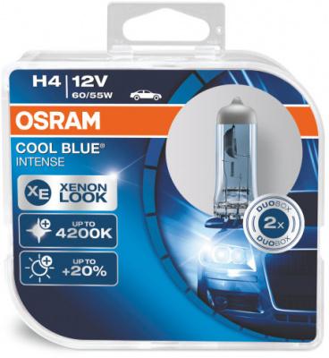 Osram Cool Blue Intense H4 Glödlampa - 55W, 12 V
