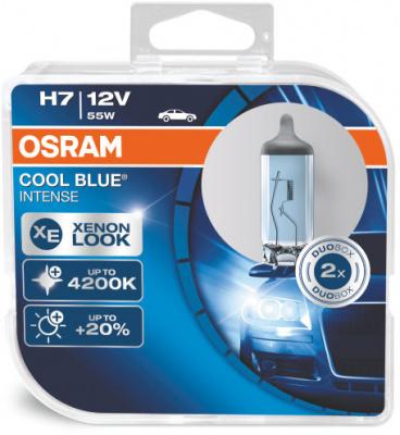 Osram Cool Blue Intense H7 Glödlampa - 55W, 12 V