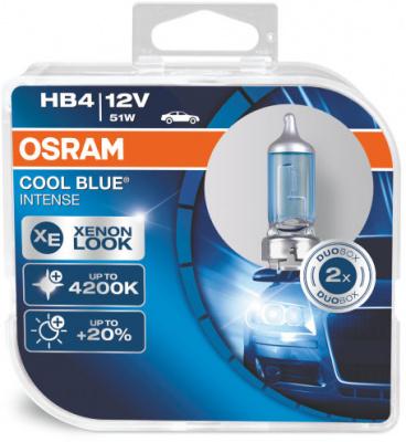 Osram Cool Blue Intense HB4 Glödlampa - 60/50W, 12 V