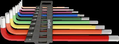 Insexnyckelsats Xl. Color. 9 Delar