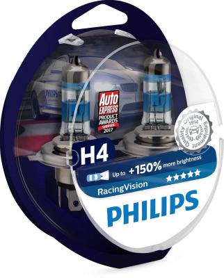 Philips RacingVision H4 Glödlampa - 60/55W, 12 V