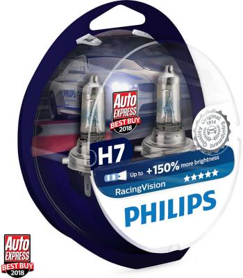 Philips RacingVision H7 Glödlampa - 55W, 12 V