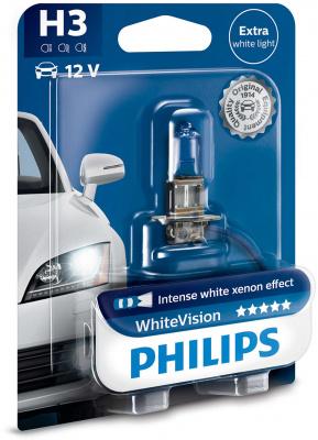 Philips WhiteVision H3 Glödlampa - 55W, 12 V