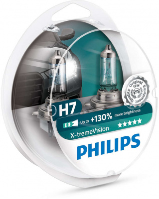 Philips X-tremeVision H7 Glödlampa - 55W, 12 V
