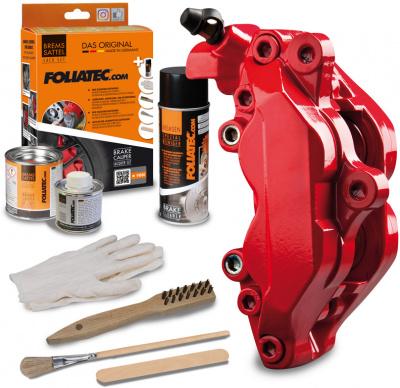 Bremsecalipere maleri kit - Racing rosso - 3 komponenter