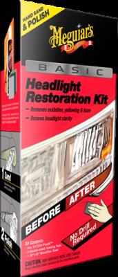 Strålkastarpoleringssats - Headlight Restoration Kit