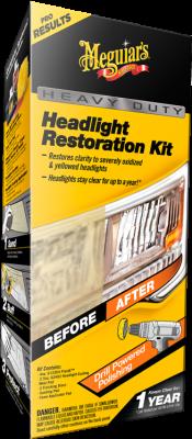 Strålkastarpoleringssats - Heavy Duty Headlight Restoration Kit