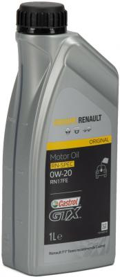 Castrol 0W-20 GTX RN-SPEC Renault RN17FE - 1 l