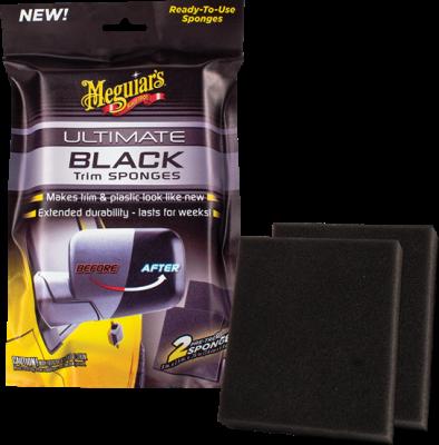Appliceringssvamp 2-pack - Ultimate Black Sponges