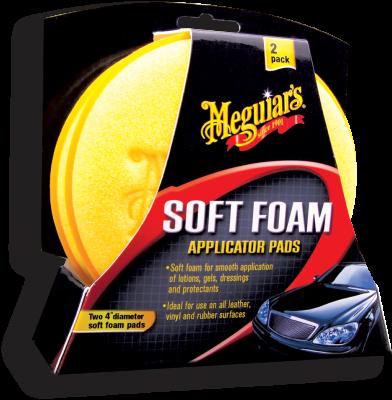 Appliceringssvamp - Soft Foam Applicator Pads 2-pack