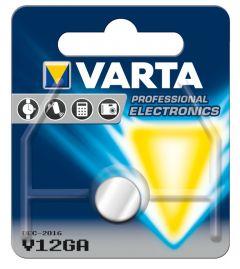 Batteri knappcell V12 GA Varta