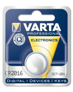 Batteri knappcell CR2016 3V Varta