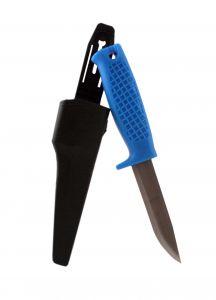 Kniv med plastskaft inkl knivslida Hall Miba