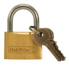 Hänglås 30 mm Hall Miba