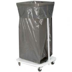 Sopsäck grå/svart 125 lit miljö 150 st/krt