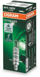 Osram Ultra Life H1 Glödlampa - 55W, 12 V
