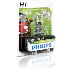 Philips Glödlampa H1 55 W LongLife EcoVision
