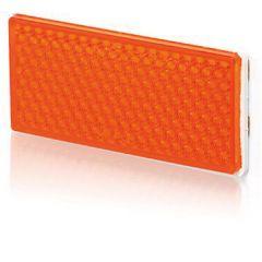 Reflex orange 105x51mm självh.