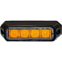 Blixtljus mini orange10-32V 4LEDx3W