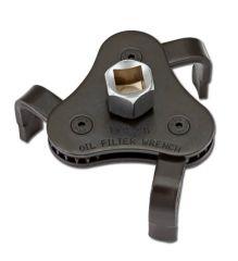 Universal oljefilterverktyg / oljefilteravdragare - 3-klor för spärrskaft/skiftnyckel