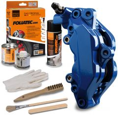 Bromsok lackering kit - RS-blå - 3 komponenter