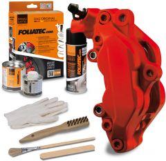 Bromsok lackering kit - Racing rosso, matt - 3 komponenter