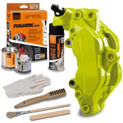 Bromsok lackering kit - Toxiskgrön - 3 komponenter
