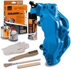Bromsok lackering kit - GT-blå - 3 komponenter