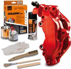 Bromsok lackering kit - Prestandaröd, glansig - 3 komponenter