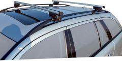 Twinny load takräcke aluminium 124 cm