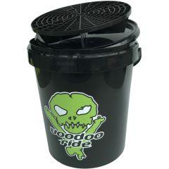 Voodoo Ride Tvätthink 15 L - Svart