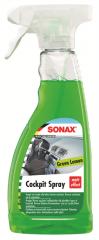 Sonax Cockpit Spray Green Lemon 500ml