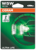 Osram Ultra Life W5W Glödlampa - 5W, 12 V